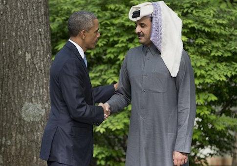 Barack Obama, Tamim bin hamad