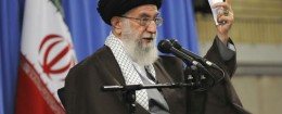 Iranian Supreme Leader Ayatollah Ali Khamenei / AP