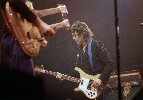 Paul McCartney in 1976 / AP