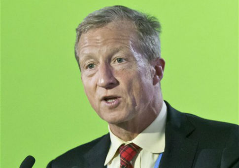 Billionaire Democratic donor Tom Steyer / AP