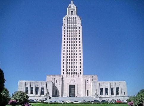 Louisiana State Capitol Building / Wikimedia Commons