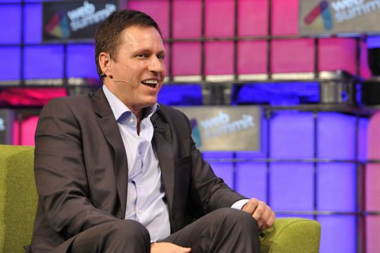 Peter Thiel laughs at your demands for free food, moochers (AP)