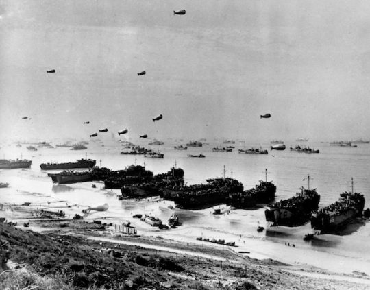 Omaha Beach, sometime in June, 1944, after D-Day / AP