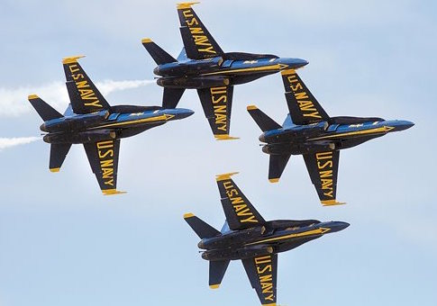 Blue Angels jets