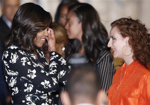 Michelle Obama in Morocco