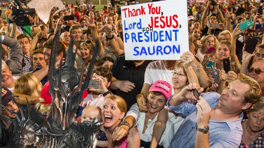 Sauron Rally
