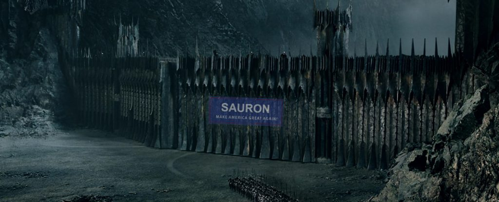 Sauron Wall