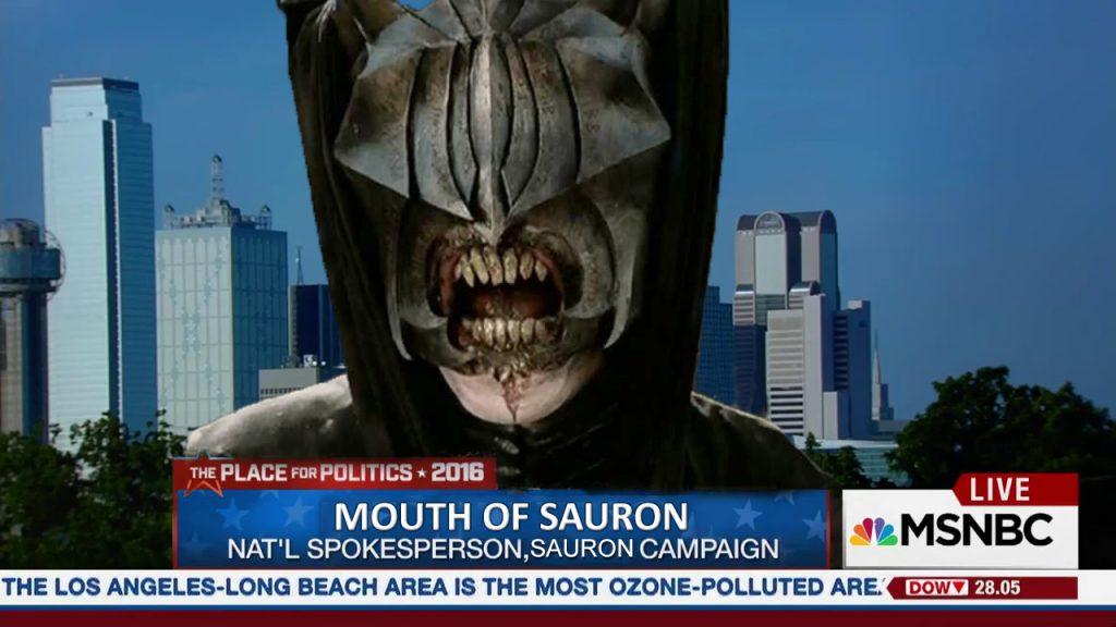 Sauron's Spokesperson