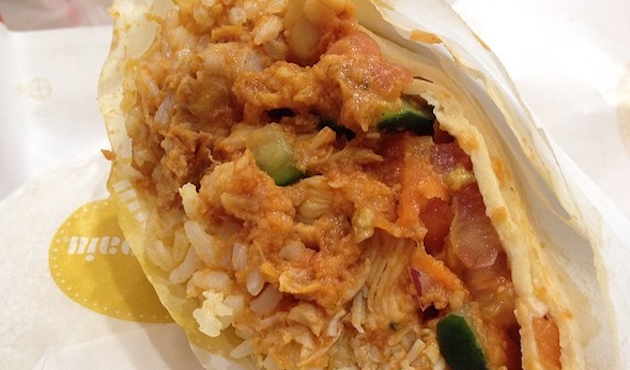Au Bon Pain's Mayan Chicken Harvest Wrap