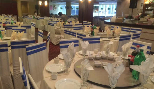 China Garden's dining room via China Garden Facebook page