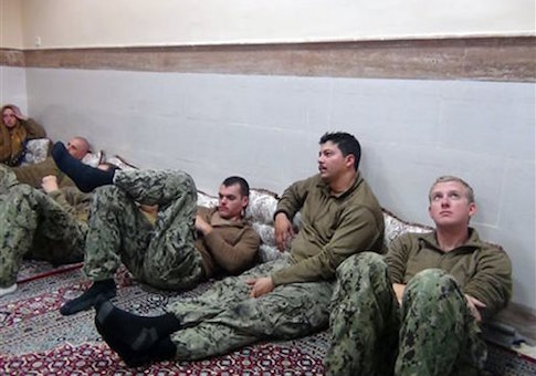 captured u.s. sailors detained