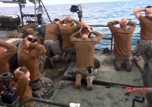 u.s. detain sailors iran