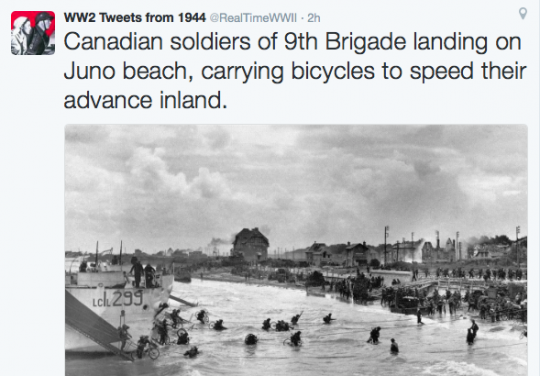 literally the last time in history that bicycles were used for good instead of evil