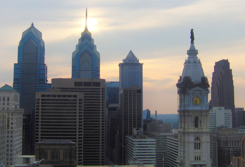 Skyline in Philadelphia, Pennsylvania / AP