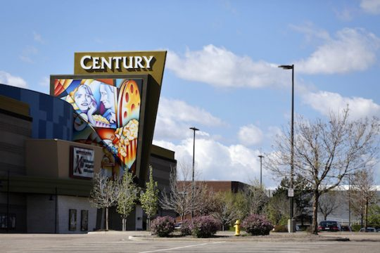 The Cinemark theater at which the Aurora shooting took place / AP