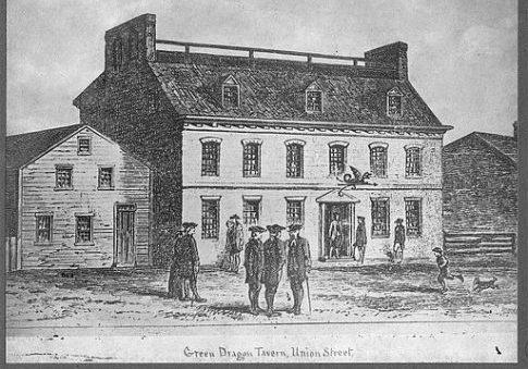 Green Dragon Tavern, Union Street / Wikimedia Commons