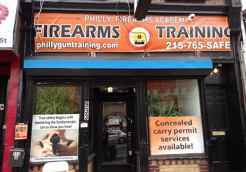 Philadelphia firearms training