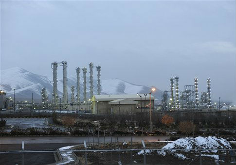 Iran's heavy water nuclear facility near the town of Arak / AP