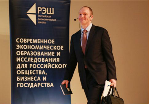 Carter Page in Moscow / AP