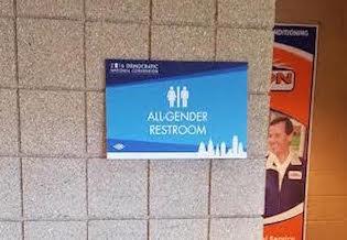 Bathroom Or Restroom dnc turns women's restroom into 'all-gender' bathroom