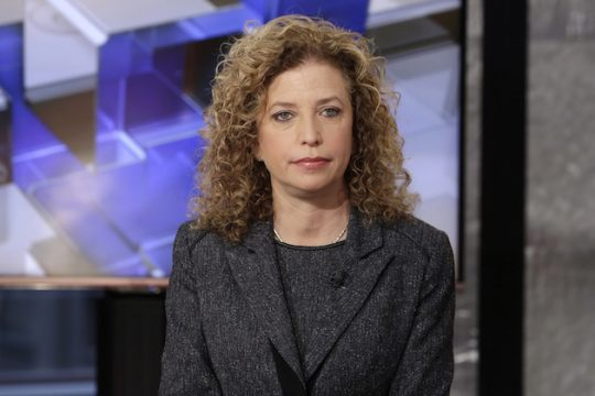 Former DNC chair Debbie Wasserman Schultz, not impressed / AP