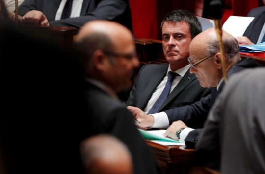 French Prime Minister Manuel Valls at the National Assembly in Paris, France, July 20, 2016 / REUTERS