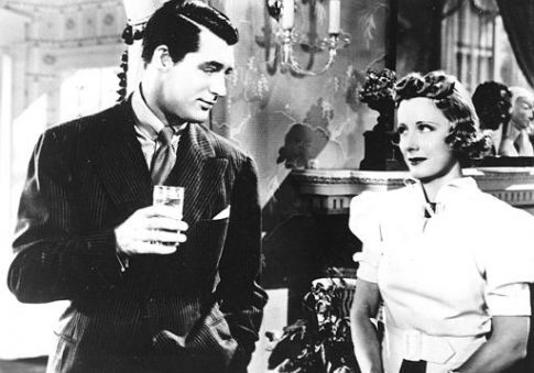 Cary Grant and Irene Dunne in the motion picture 'The Awful Truth' / AP