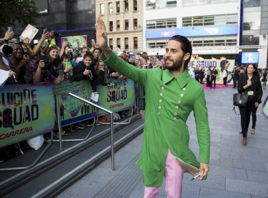 For the record, this post is titled 'In Defense of Jared Leto,' not 'In Defense of Jared Leto's Ridiculous Outfits' / AP
