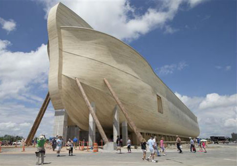 The main attraction at the Ark Encounter theme park / AP