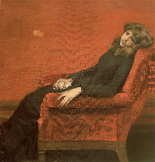 'The Young Orphan' by William Merritt Chase / National Academy Museum, New York