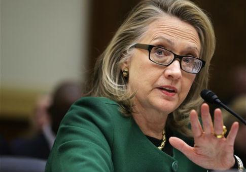 Hillary Clinton in 2013 / AP