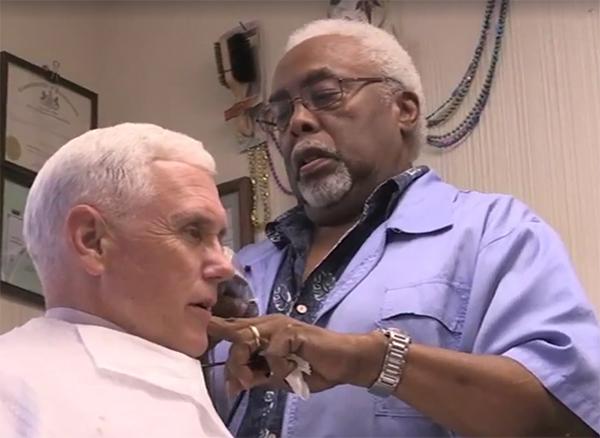 Pence Hair Cut