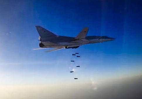 Russian long range bomber