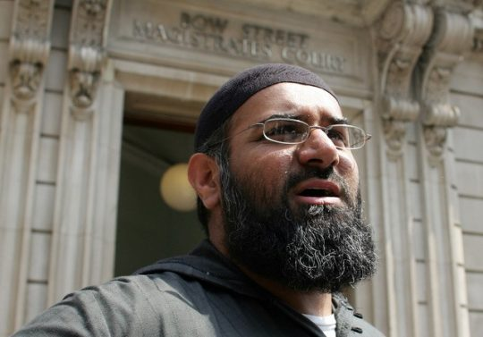 Anjem Choudary in London on  July 4, 2006 / REUTERS