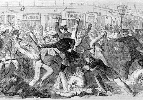 The New York City draft riots / Harper's Weekly