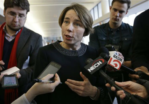 Massachusetts Attorney General Maura Healey / AP
