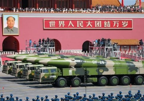 DF-26 hypersonic long-range anti-ship missiles in Beijing / AP