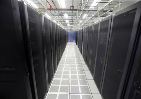 A server farm in Cleveland, Ohio / AP