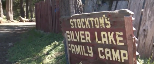Silver Lake Family Camp in Stockton, Calif. / Screenshot from YouTube