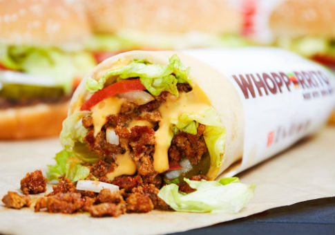The Whopperrito / Burger King Twitter account