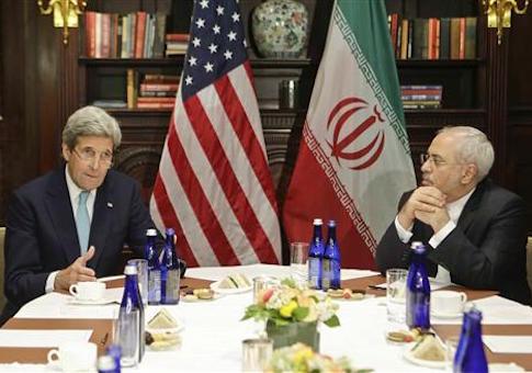 John Kerry, Javad Zarif / AP