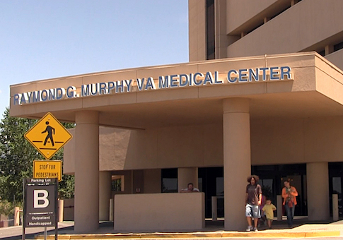 VA Medical Center in Albuquerque, N.M.
