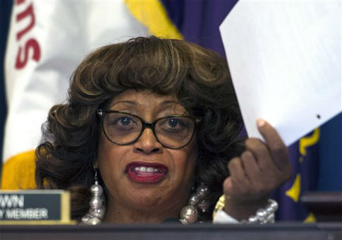 Rep. Corrine Brown (D., Fla.) / AP