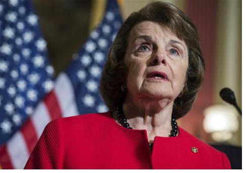 Sen. Dianne Feinstein / AP