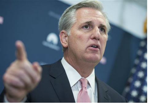 House Majority Leader Kevin McCarthy / AP