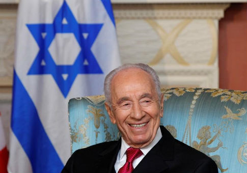 Shimon Peres in May 2012 / REUTERS