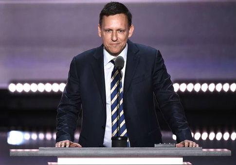 Peter Thiel / AP