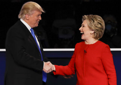 Clinton: I 'Beat' Trump