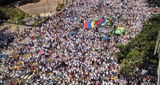 Opposition rally in Caracas, Venezuela on Sept. 1, 2016 / Twitter