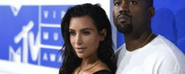 Kim Kardashian and Kanye West / AP